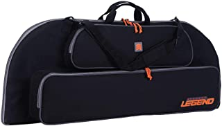 Legend Archery Bowarmor 116 Compound Bow Case - Shoulder Strap, Soft Tricot and Foam Padding - Inside Length 44