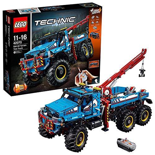 LEGO 42070 LEGO Technic Camión grúa todoterreno 6x6 (Descontinuado por Fabricante)