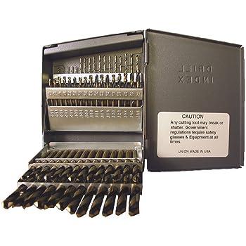 Viking Drill and Tool 87520#9 Type 260-UB 135 Degree Split Point Magnum Super Premium Screw Machine Length Drill Bit 12 Pack