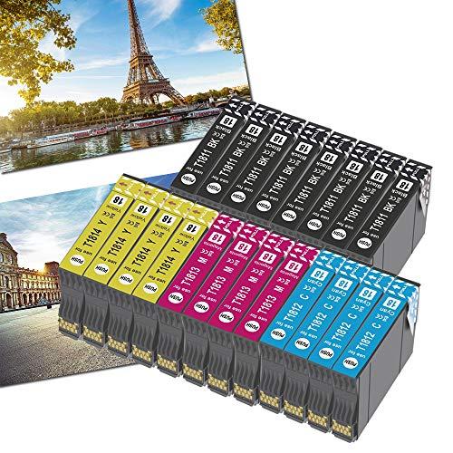 OGOUGUAN 18XL - Cartuchos de tinta para Epson 18 18 XL compatible con Epson Expression Home XP-322 XP-215 XP-205 XP-225 XP-305 XP-325 XP-422 XP-405 XP-415 XP-425 XP-315 XP-312 XP-425 (20 unidades)
