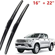MISDHLimpiaparabrisas Delantero, para Toyota HILUX Vigo IMV 2014-2019