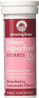 Amazing Grass, Green Hydration Strawberry Lemon Single, 10 Count