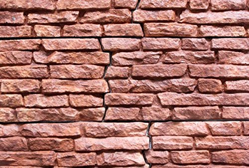 Set 3 stück Betonform Schalungsform Gießform Plastikformen für Beton, Naturstein Klinker/Wandverkleidung/Wandverblender/Verblendsteine W17(3)