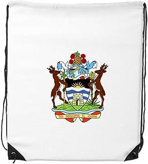 Saint John's Antigua & Barbuda Emblema - Mochila con cordón para la compra