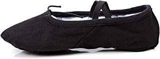 Nexete Men Ballet Dance Yoga Gymnastics Split-Sole Canvas Adult Shoes Slipper