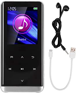 MP3 Player, Portable with FM Radio Function, 300 mAh MP4 Player with USB 2.0 Interface for Sports Travel(16 GB)