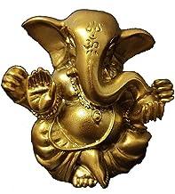 Worth Having - Ganesha Buddha Statue, Meditation Ornament, 5cm Resin Elephant Sculpture, Home Garden Decor Feng Shui Ornam...