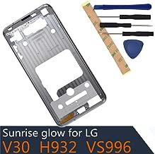 H930 Metal Middle Frame Compatible with LG V30 H930 H933 H931 H932 VS996 US998 LS998U (Cloud Silver)