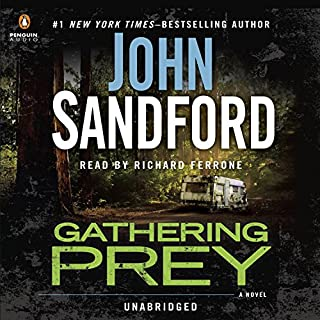 Gathering Prey audiobook cover art