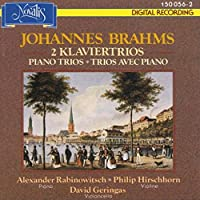 (Piano Trio)string Sextet.1, 2: Rabinovitch(P)hirschhorn(Vn)gerings(Vc)