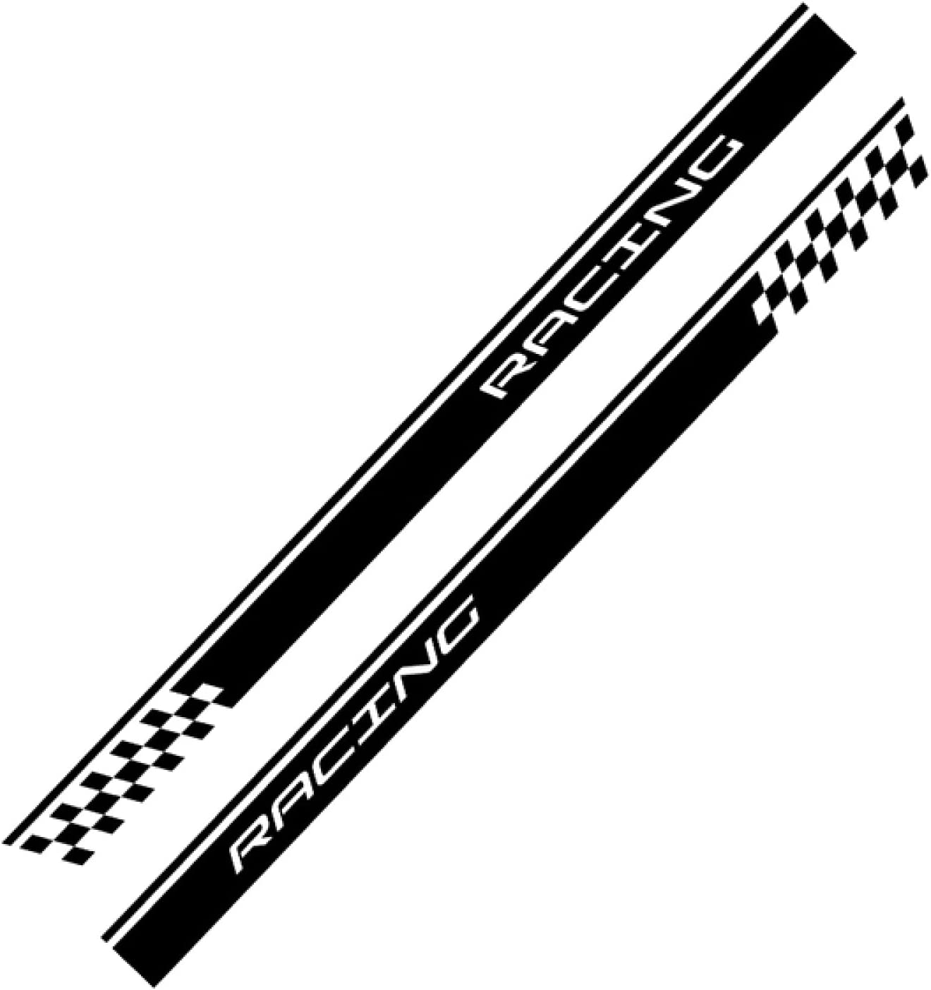 GLLXPZ 2PCS Car Door Side Skirt Ford Regular discount Focus MK1 NEW before selling ☆ Sticker MK2 for