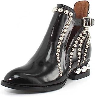 حذاء Jeffrey Campbell نسائي مرصع ريلانس, (Black Box Silver), 38 EU