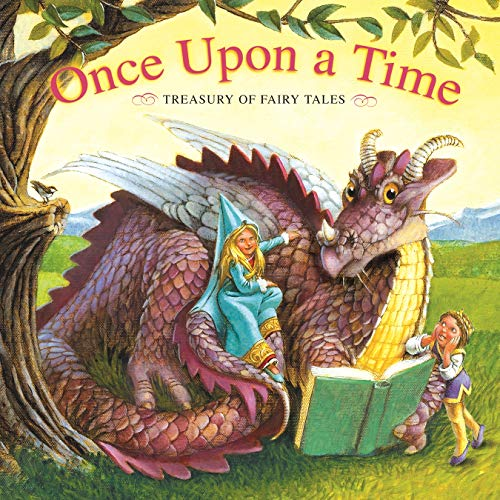 Once Upon a Time Treasury of Fairy Tales- PI Kids (Padded Treasury)