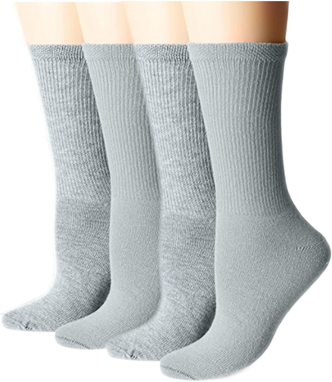 Unibasic Men and Women Loose Knit Arthritis Diabetic Crew Cotton Socks  Bulk Lot  48 Pack