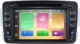 hizpo Android 10 Auto-Stereo DVD-speler 7 inch Autoradio RAM 4G ROM 64G GPS-navigatie voor Mercedes-Benz C-W209 / C-W203 /...