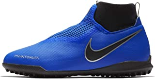Official Nike Phantom Vision Academy DF Astro Turf Football Trainers Juniors Soccer Shoes