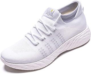 ONEMIX Men's Women's Trainers Lightweight Mesh Running Sneakers Slip-on Walking Shoes for Outdoor Casual