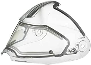 Ski-Doo New OEM Modular 2 3 V180 Clear Electric Heated Helmet Visor, 4485030000