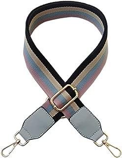 ACVIP Women's Macaron Colored Canvas Adjustable Handbag Replacement Strap