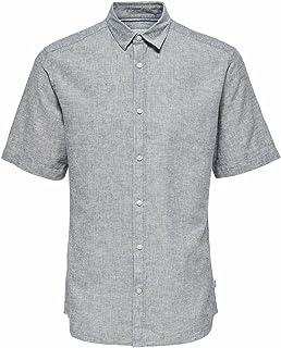 Only & Sons Onscaiden Ss Linen Shirt Noos Heren Shirt