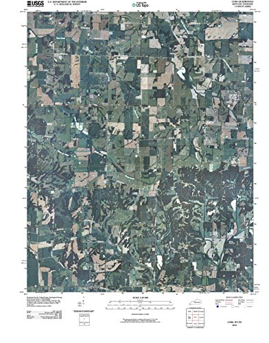 2010 Cuba, KY - Kentucky - USGS Historical Topographic Map : 44in x 55in