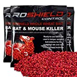 Roshield 500g Whole Wheat Bait Rat & Mouse Killer Sachet Kit+ 20% Extra Free