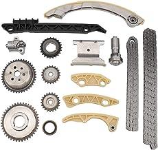 MAYASAF Engine Timing Chain Kit for 11-15 Buick LaCrosse/Regal/Verano, 06-10 Chevy Cobalt/10-15 Equinox/06-11 HHR/08-13 Malibu, Pontiac G5/G6, GMC SAAB Saturn ION/Aura/Vue/Sky