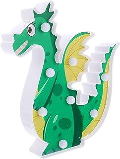 KESYOO Dinosaur Night Light LED Christmas Night Light Xmas Animal Desktop Figurine Ornament Decoration for Christmas Party...