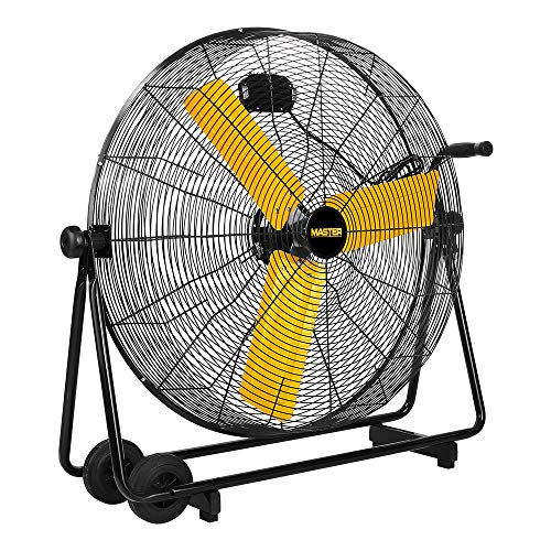 Master PROFESSIONAL High Velocity Floor Fan, 30-inch, 3 Speed, 8,500 CFM, OSHA Compliant-MAC-30BCT