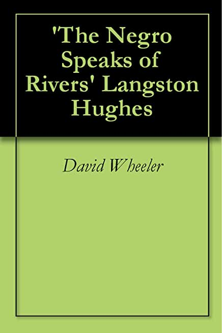 'The Negro Speaks of Rivers' Langston Hughes (English Edition)