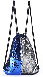 Two-Tone Sequin Backpack Mermaid Sequin Sports Dash Backpack