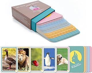 comprar comparacion Kakaduu - Mis Primeras Palabras ANIMALES: 50 tarjetas con fotos de animales. El juego educativo Montessori para bebés y ni...