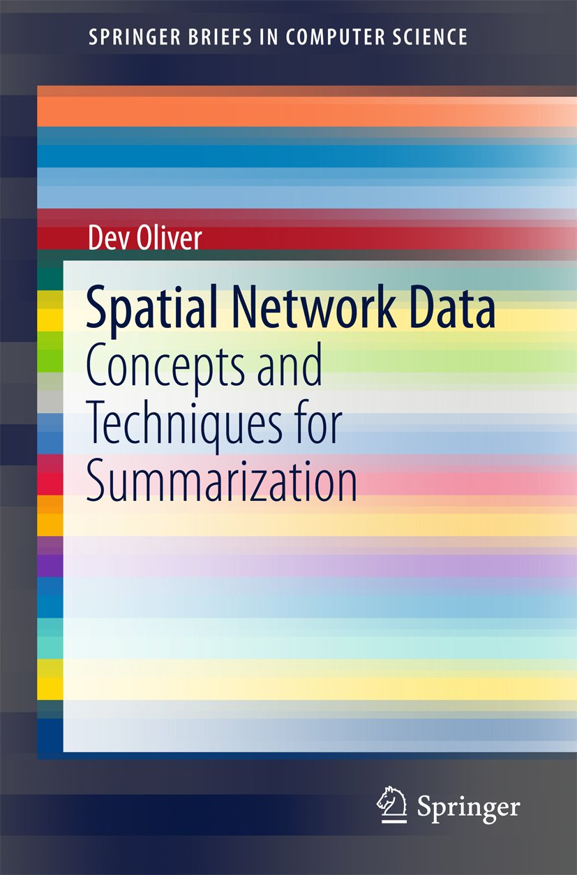 Spatial Network Data: Concepts and Techniques for Summarization (SpringerBriefs in Computer Science)
