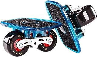 Gratis Skates, Lichtmetalen Bracket, Roller Drift Skates Plate Anti-Slip Board Aluminium Vrachtwagen met 72 mm PU Wielen (...