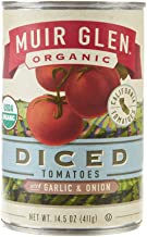 product image for Muir Glen, Organic Diced Tomatoes With Garlic and Onion, 14.5 oz