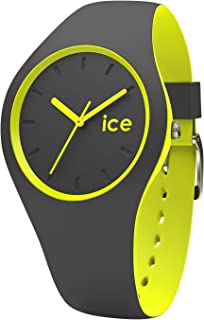 Ice-Watch - ICE duo Anthracite Yellow - Boy's wristwatch with silicon strap - 001486 (Small)