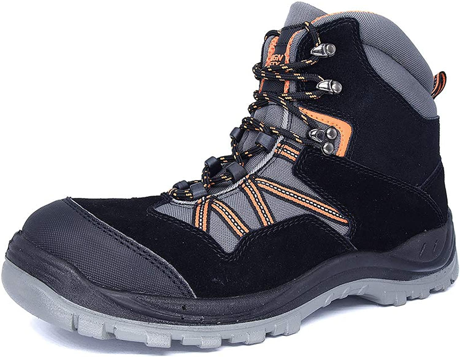 DANDANJIE Mens Hiking Shoes Fall /& Winter High Top Mountaineering Shoes Lace Up Warm Outdoor Sports Booties