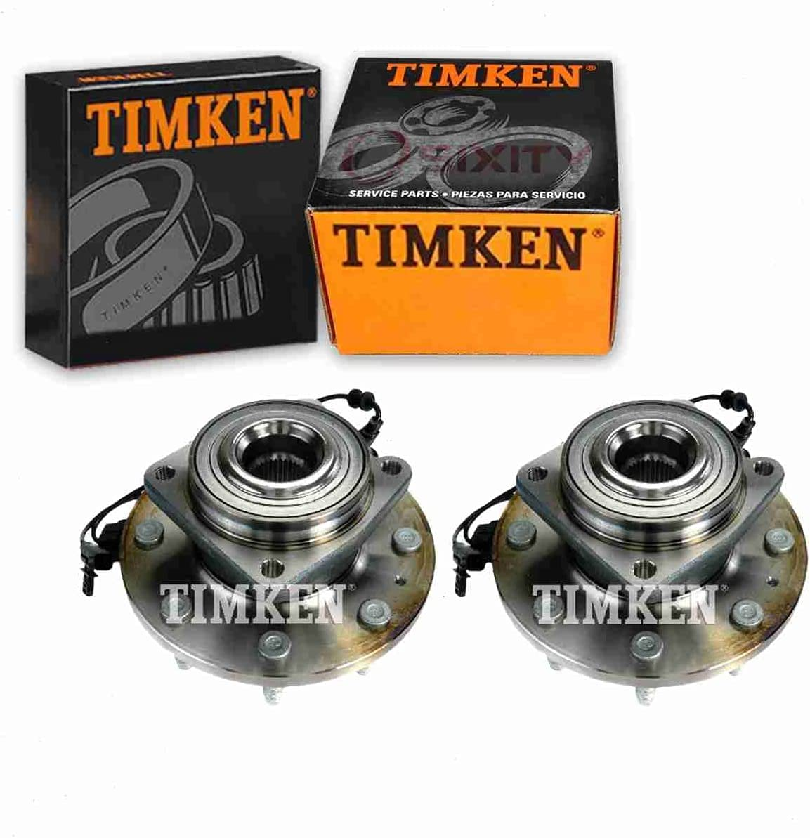 2 pc Timken Rear Wheel Chicago Mall Bearing compatible with lowest price Ford Assembly Hub