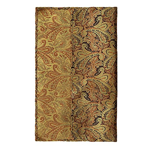 Merssavo Trendy Paisley Männer kurze Seidenschals Krawatte Ascot Krawatten Taschentuch Herren # 3