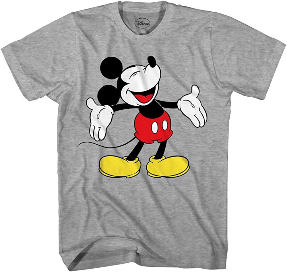 Mickey Mouse Disneyland World Funny Graphic Tee Humor Adult T-Sh Max Deluxe 55% OFF