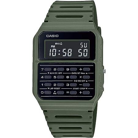 Casio Collection Retro Orologio digitale da uomo con cinturino in plastica CA-53WF