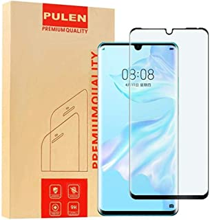 Huawei P30 Pro Screen Protector, HD Clear Full Screen Coverage Bubble Free Anti-Fingerprints 9H Hardness Tempered Glass. 2...