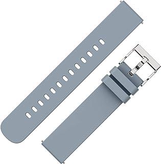 Judneer Cinturini per orologi - cinturini per orologi in silicone a cambio rapido in morbida gomma