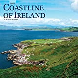 Coastline of Ireland 2021 12 x 12 Inch Monthly Square Wall Calendar, Travel Nature Ocean Cliffs Celtic