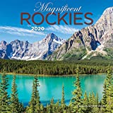 Magnificent Rockies 2020 7 x 7 Inch Monthly Mini Wall Calendar, Canadian Regional Travel Canada
