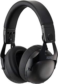 KORG NC-Q1 Auriculares Inteligentes con cancelación de Ruido para DJ, Color Negro