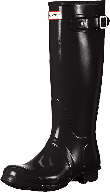 Womens Hunter Original Tall Gloss R Waterproof Detroit Mall Winter Wellington New Shipping Free Shipping