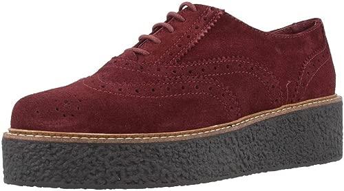 Halbschuhe & Derby-Schuhe, Farbe Burgund, Marke Gelb, Modell 55636 rot (Burdeos)