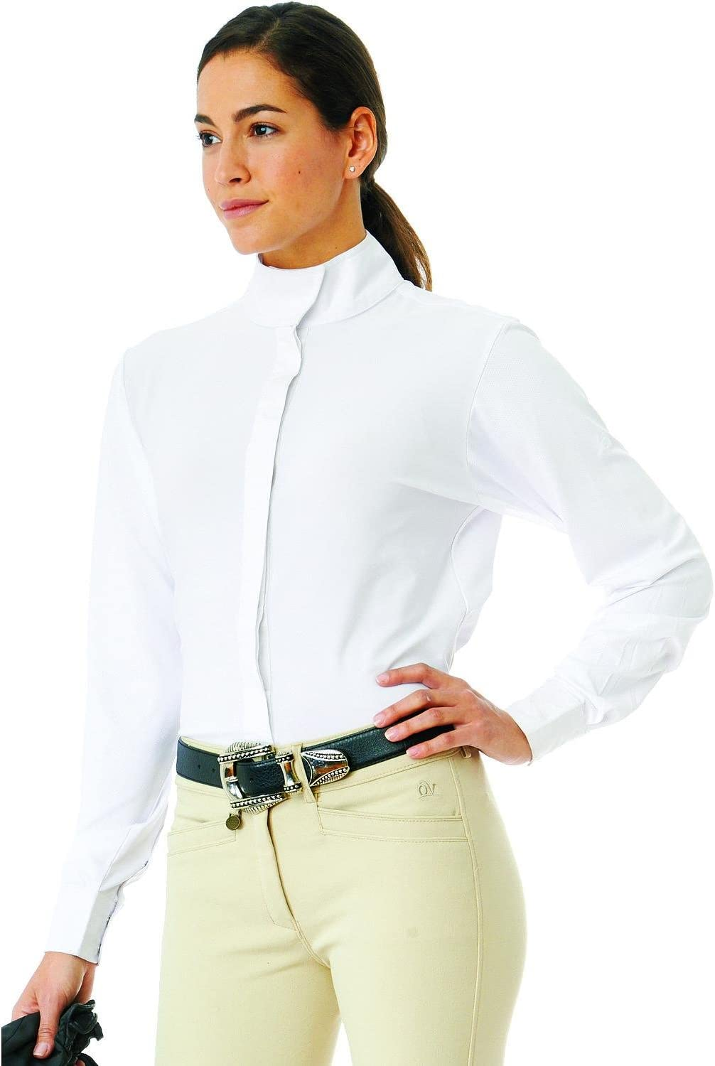 Ovation Ladies Super popular specialty store Limited Special Price Long Sleeve Tech Shirt Show