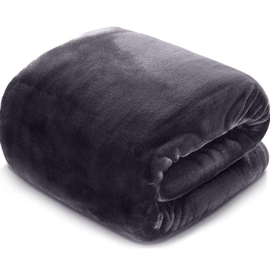 オペレーターイブ実際にAngel 毛布 柔らかい ブランケット 暖かい フランネル 掛布団 洗える 安眠 布団 静電気防止 シングル 140X200㎝(グレー)